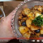 動画でレシピ公開カンタン桃とサバ缶ののっけ丼